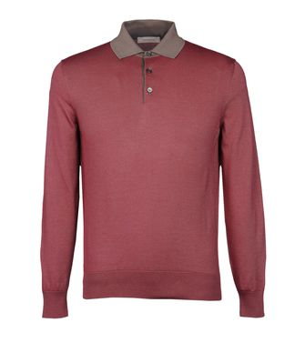 Jersey tipo polo  ERMENEGILDO ZEGNA