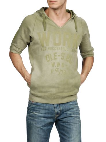 DIESEL - Sweatshirts - SCORN-R