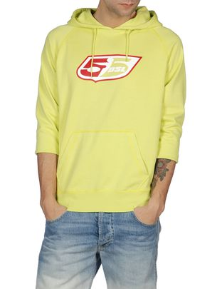 Sweaters 55DSL: FLOGO-HOOD