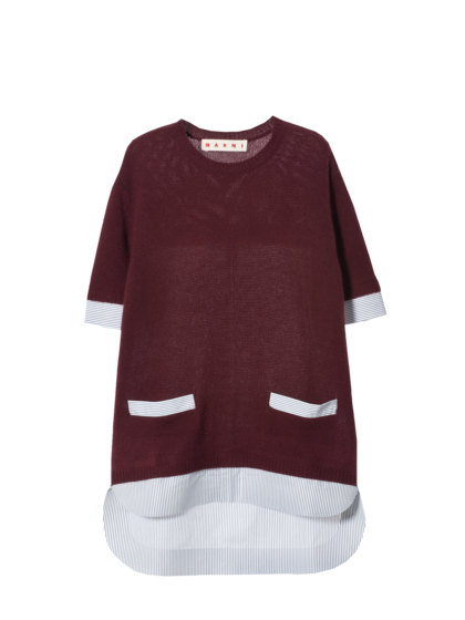 MARNI - Maglia maniche corte