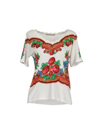 BLUMARINE - Short sleeve jumper