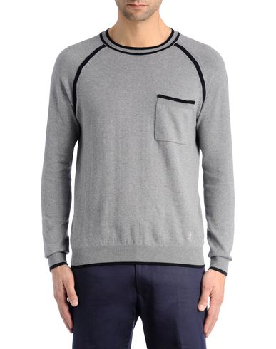 Contrast Tipping Sweater