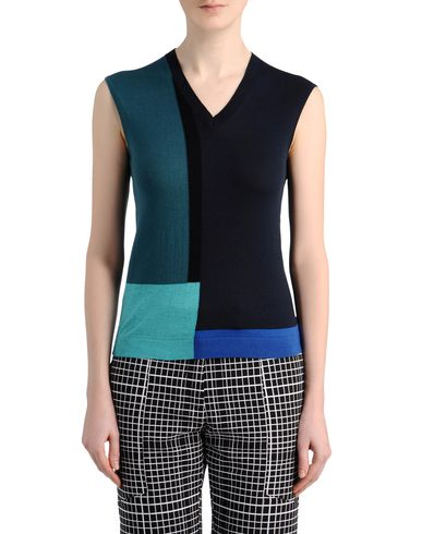 Colour Block V-Neck