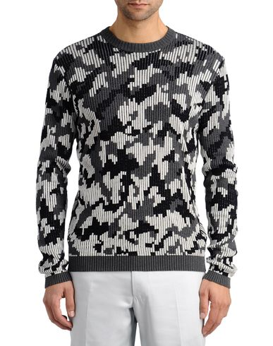 Camouflage Jacquard Sweater