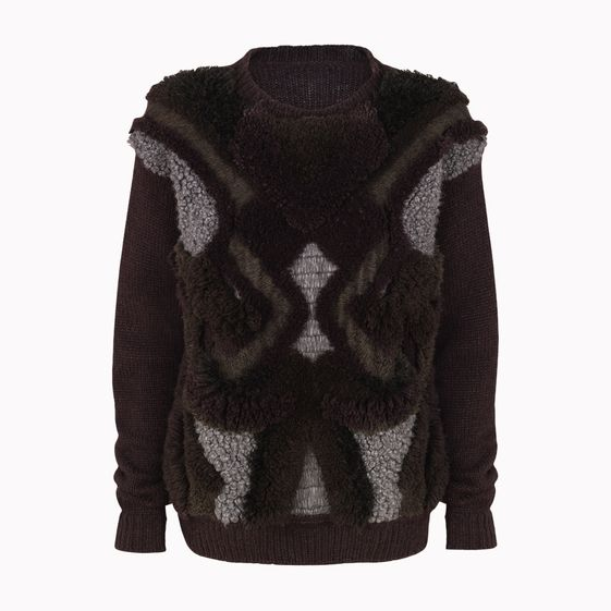 Stella McCartney, Bark Textured 3D Tufted Jumper
