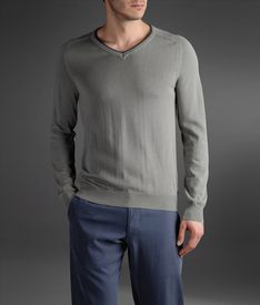ARMANI COLLEZIONI - V  neck sweater