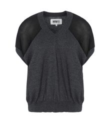 V-neck - MM6 by MAISON MARTIN MARGIELA