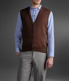 ARMANI COLLEZIONI - Sweater vest