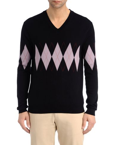 Argyle Band V-Neck