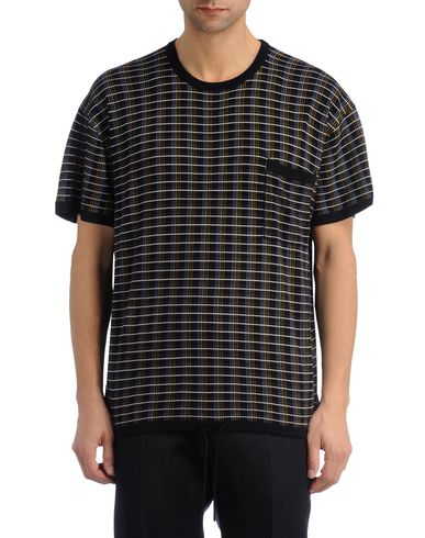Striped Check Tee