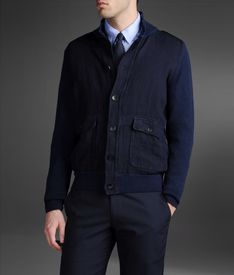 ARMANI COLLEZIONI - Knit jacket
