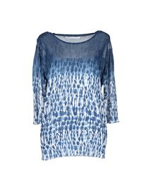 THAKOON ADDITION - Short sleeve sweater