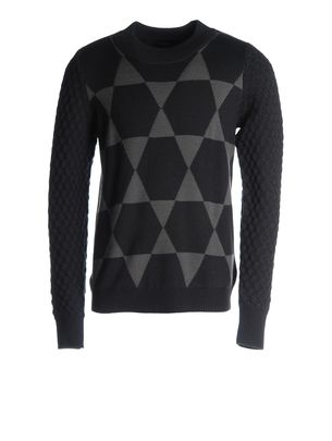 Sweaters DIESEL BLACK GOLD: KHRISALIS-STAR