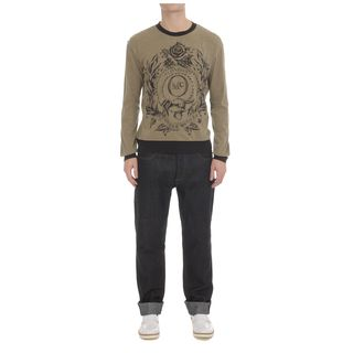 McQ, Knitwear, Military Crest McQ Logo Sweater