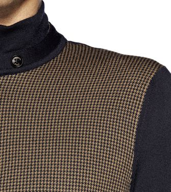 ERMENEGILDO ZEGNA: High Neck Brown - 39372231WF
