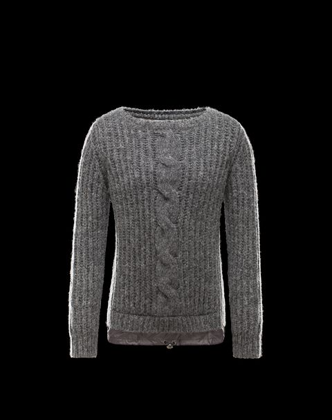 MONCLER Women - Spring-Summer 14 - KNITWEAR - Long sleeve sweater -