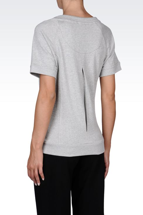 SWEATSHIRTS: Crewneck sweatshirts Women by Armani - 3
