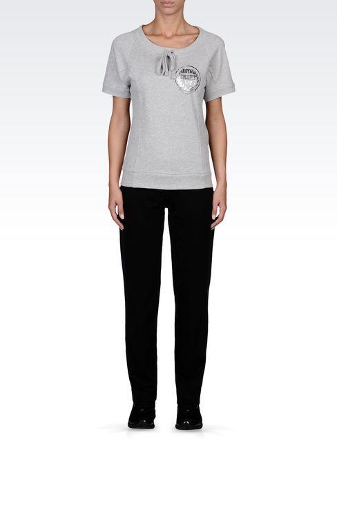 SWEATSHIRTS: Crewneck sweatshirts Women by Armani - 1