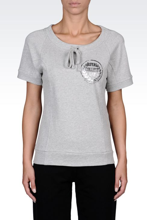 SWEATSHIRTS: Crewneck sweatshirts Women by Armani - 2