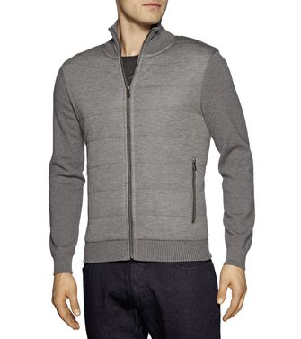 ZEGNA SPORT: Cardigan Grey - 39376877MT