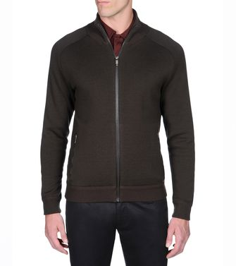 ZEGNA SPORT: Cardigan Dark brown - 39377029NT
