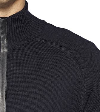 ZEGNA SPORT: Cardigan Black - 39377037PS