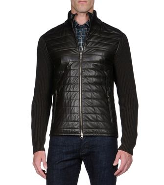 ZEGNA SPORT: Fabric Jacket Steel grey - 39377043PB