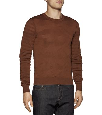 ZZEGNA: Crewneck Dark brown - 39377047VW