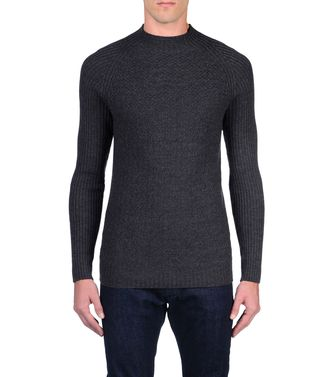 ZZEGNA: Crewneck Steel grey - 39377057TO