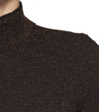 ZZEGNA: High Neck Dark brown - 39379144WX