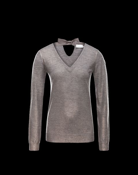 MONCLER Women - Fall-Winter 13/14 - KNITWEAR - V-neck -