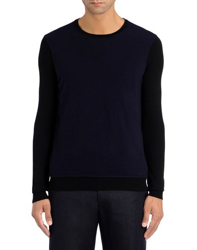 Contrast Sleeve Knit Sweater