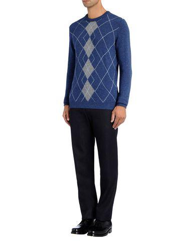 Argyle Front Fine Knit Jumper
