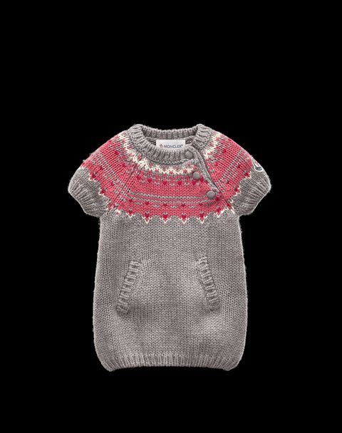 MONCLER ENFANT Women - Spring-Summer 14 - KNITWEAR - Dress -