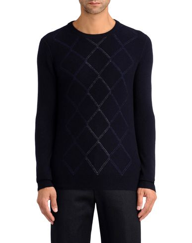 Signature Diamond Fine Knit Sweater