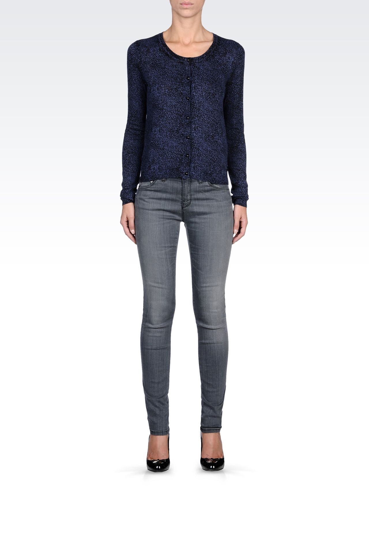 Knitwear: Cardigans Women by Armani - 0