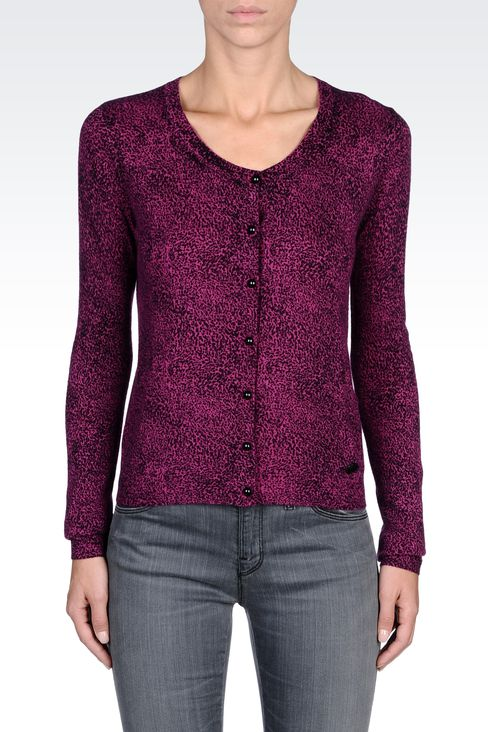 Knitwear: Cardigans Women by Armani - 2