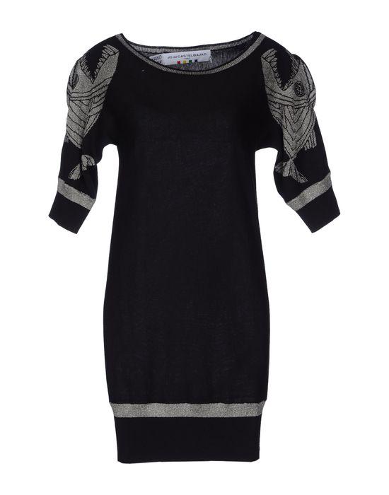 Фото JC DE CASTELBAJAC Короткое платье. Купить с доставкой