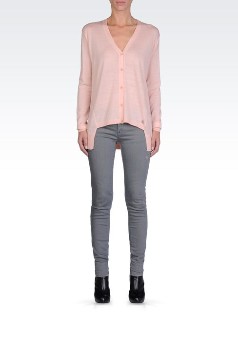 ASYMMETRICAL CARDIGAN: Cardigans Women by Armani - 1