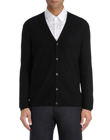 Herringbone effect Knit Cardigan