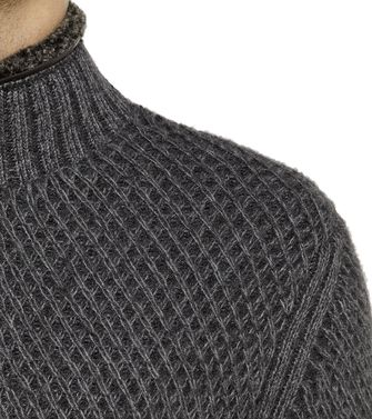 ERMENEGILDO ZEGNA: Cashmere sweater Brick red - 39390048HR