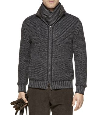 ERMENEGILDO ZEGNA: Cashmere sweater Dark brown - 39390048HR