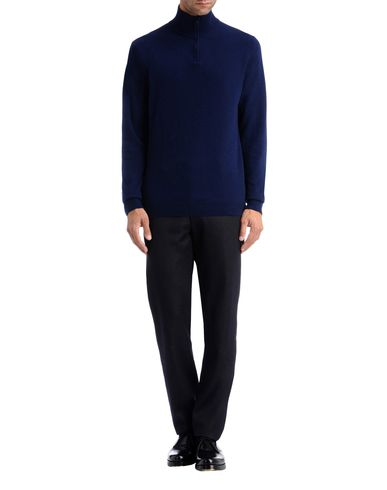 Zip Neck Merino Sweater