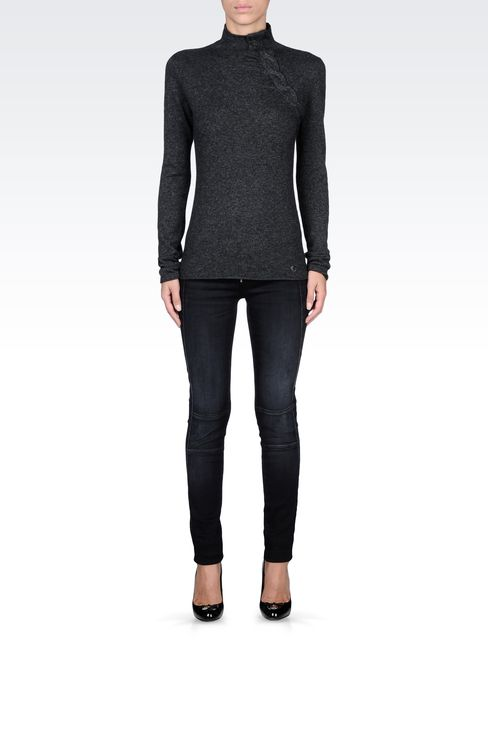 Knitwear: High neck sweaters Women by Armani - 1