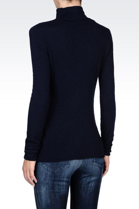 Knitwear: High neck sweaters Women by Armani - 3