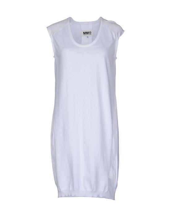 Фото MM6 BY MAISON MARTIN MARGIELA Короткое платье. Купить с доставкой