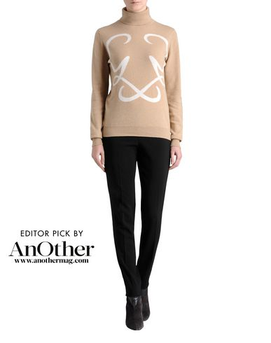 Intarsia Roll Neck Sweater
