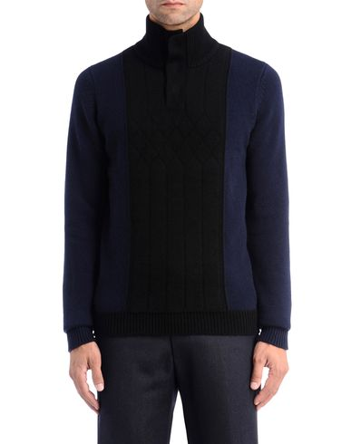 Heritage Diamond Front <br> Roll Neck Jumper