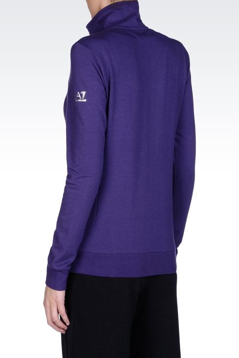 SWEATSHIRTS: Zip sweatshirts Women by Armani - 3