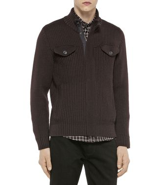 ZEGNA SPORT: Cardigan Brown - 39395041QB